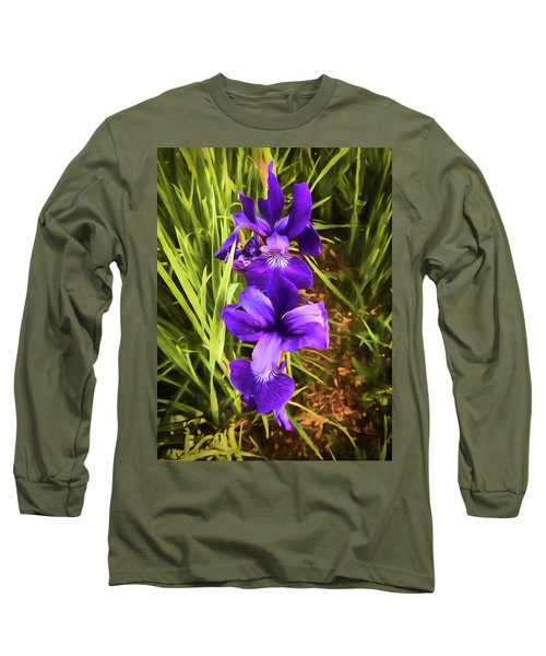 Desert Iris Long Sleeve T-Shirt