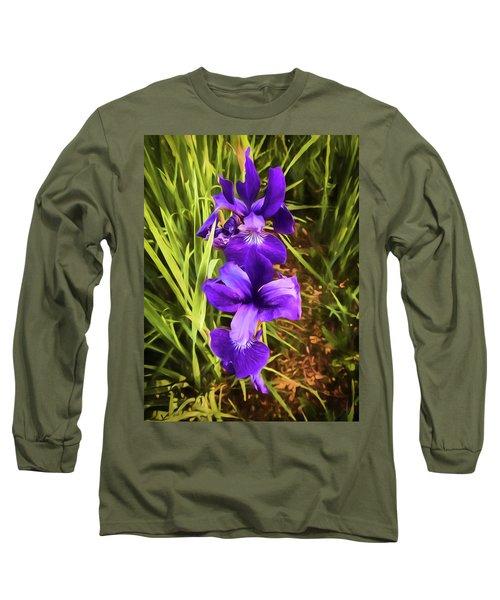 Desert Iris Long Sleeve T-Shirt