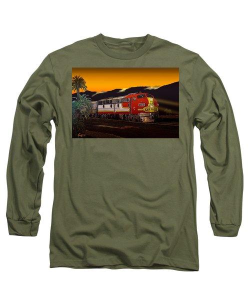 Desert Palms Long Sleeve T-Shirt