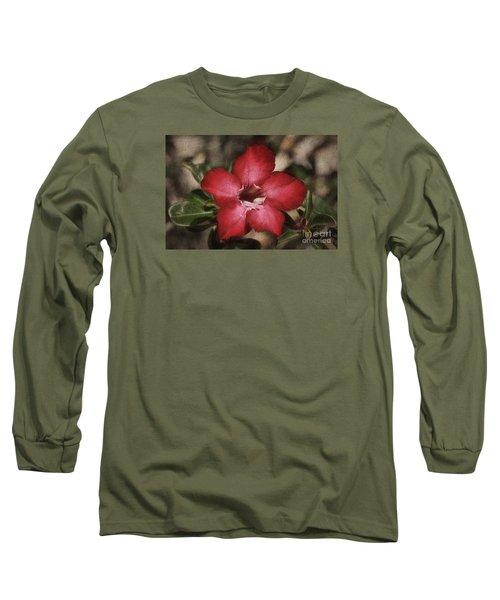 Desert Rose In Daytona Long Sleeve T-Shirt