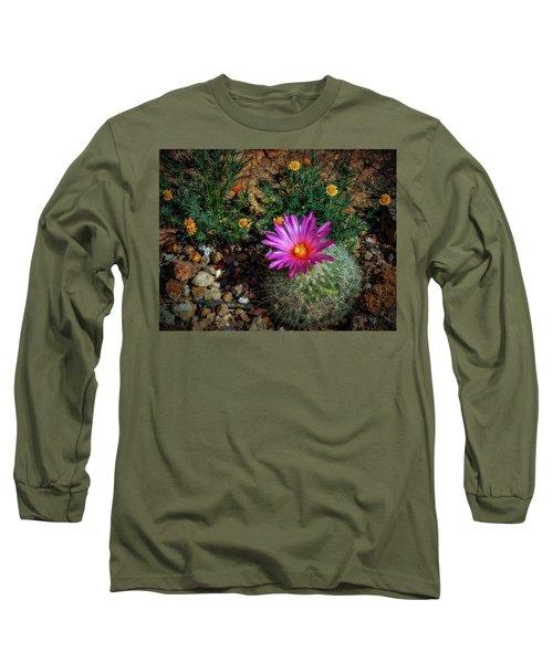 Desert Splash Long Sleeve T-Shirt by Elaine Malott