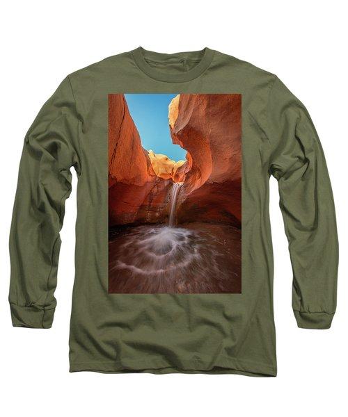Desert Waterfall Long Sleeve T-Shirt
