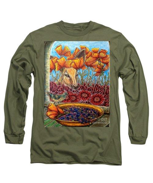 Dessert Anyone? Long Sleeve T-Shirt by Kim Jones