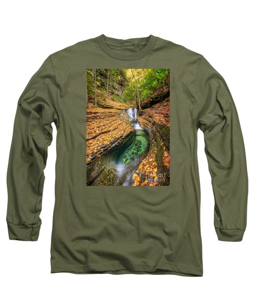 Devils Bathtub Autumn Long Sleeve T-Shirt