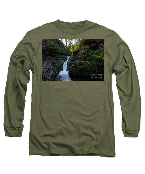 Devil's Bathtub In The Morning Long Sleeve T-Shirt