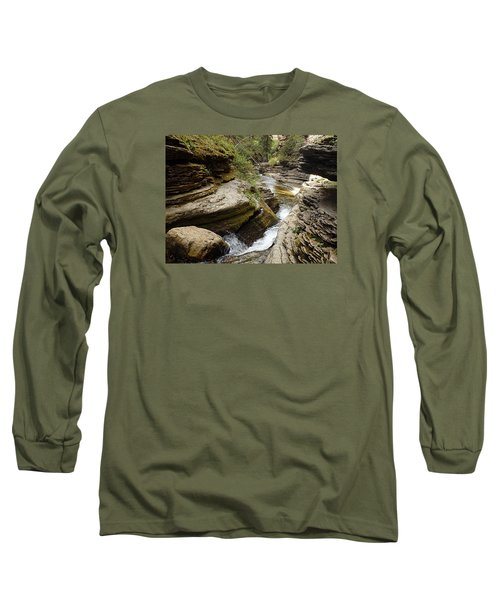 Devil's Bathtub Sd Long Sleeve T-Shirt by James Peterson