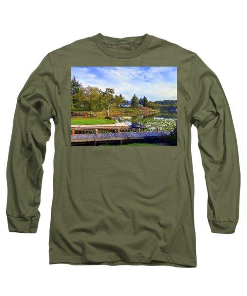 Devils Lake Oregon Long Sleeve T-Shirt
