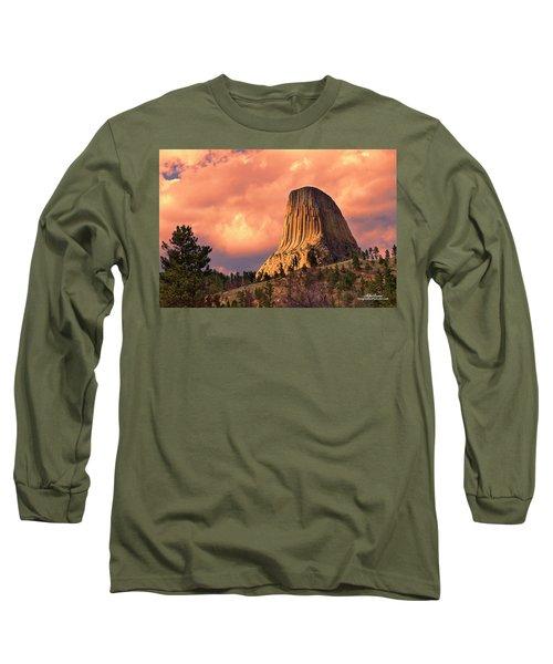 Devil's Tower Long Sleeve T-Shirt