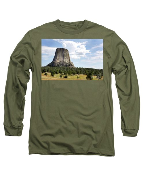 Devils Tower National Monument Long Sleeve T-Shirt