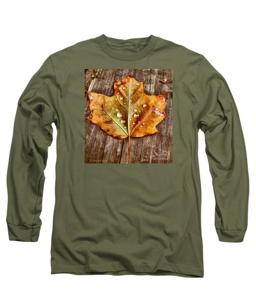 Dew Diligence Long Sleeve T-Shirt by Heather King