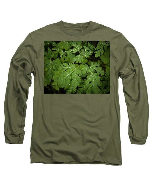 Dewey Leaves Long Sleeve T-Shirt