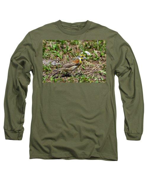 Dickcissel Long Sleeve T-Shirt