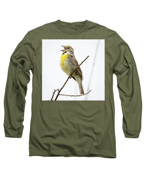 Dickcissel  Long Sleeve T-Shirt