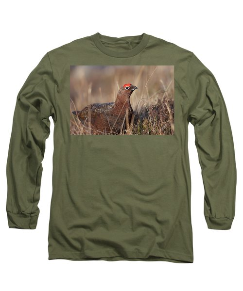 Long Sleeve T-Shirt featuring the photograph Did I Overdo It With The Eye Shadow? by Karen Van Der Zijden