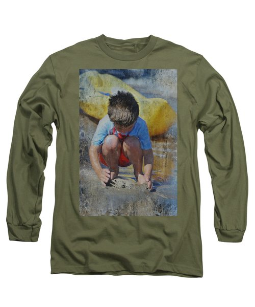 Digging To China 2 Long Sleeve T-Shirt