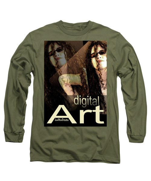 Digital Art Poster Long Sleeve T-Shirt