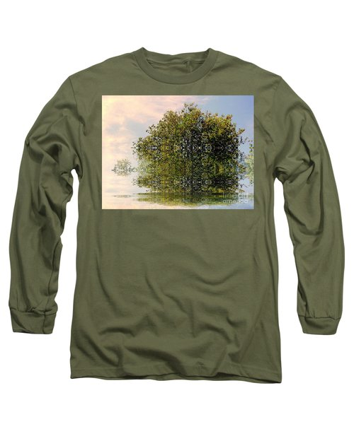 Dimensional Long Sleeve T-Shirt by Elfriede Fulda