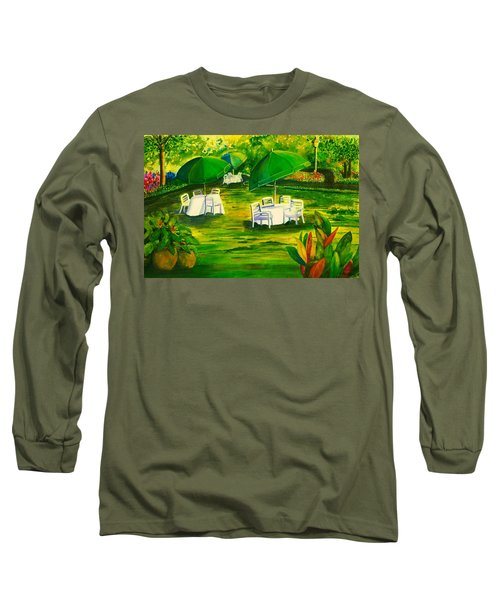Dining In The Park Long Sleeve T-Shirt