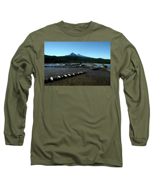 Long Sleeve T-Shirt featuring the photograph Directional Points by Laddie Halupa
