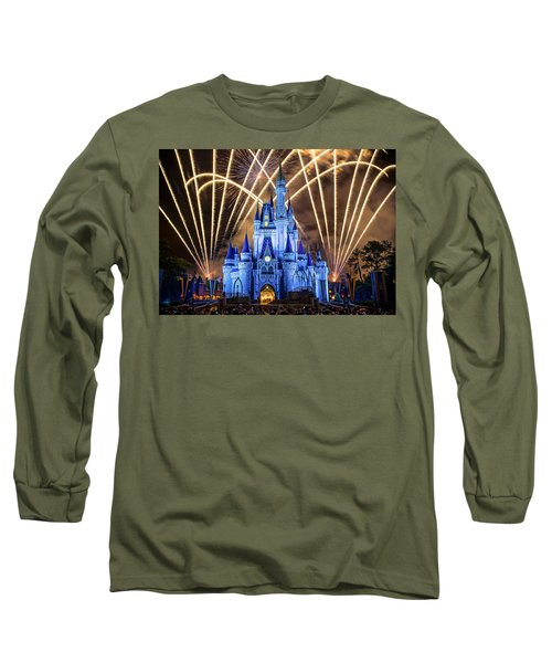Long Sleeve T-Shirt featuring the photograph Disney World by Anna Rumiantseva