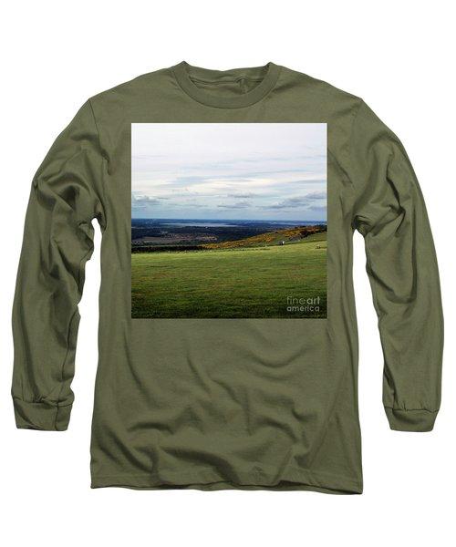 Distance Long Sleeve T-Shirt by Sebastian Mathews Szewczyk