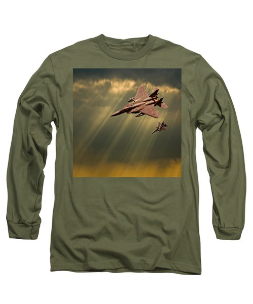 Diving Eagles Long Sleeve T-Shirt