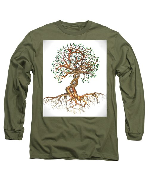 Dna Tree Of Life Long Sleeve T-Shirt