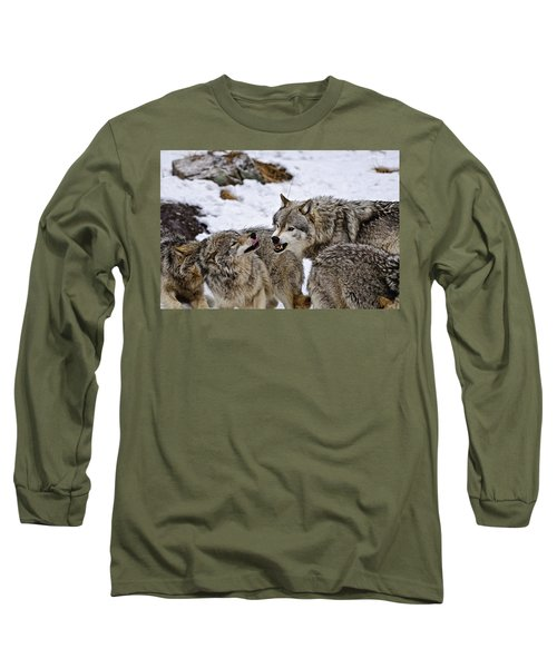 Long Sleeve T-Shirt featuring the photograph Do I Have Your Attention Now by Michael Cummings