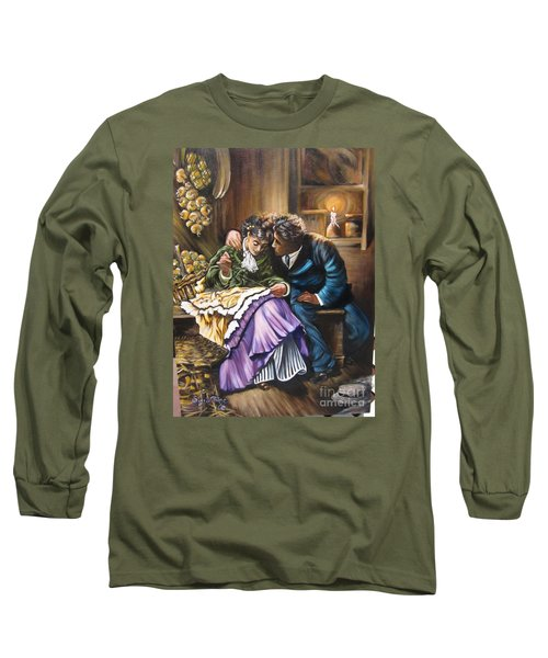 American History    Will You Marry  Me? Long Sleeve T-Shirt