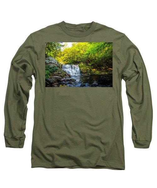 Doans Falls Lower Falls Long Sleeve T-Shirt