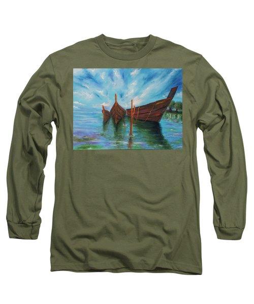 Docking Long Sleeve T-Shirt