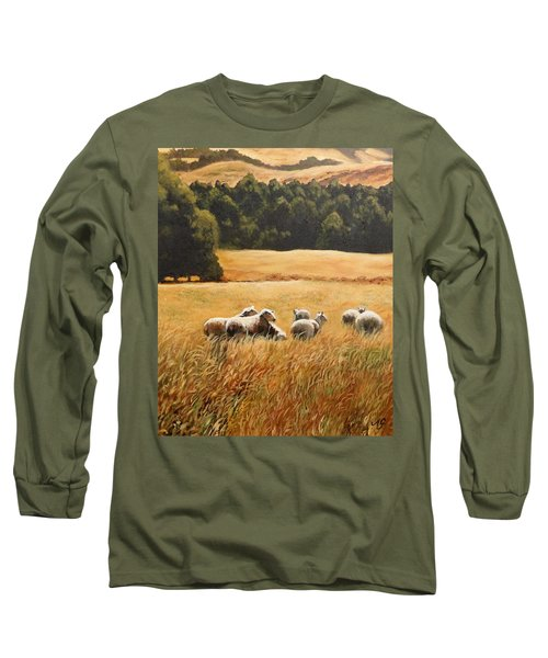 Does My Bum Look Big In This Paddock? Long Sleeve T-Shirt