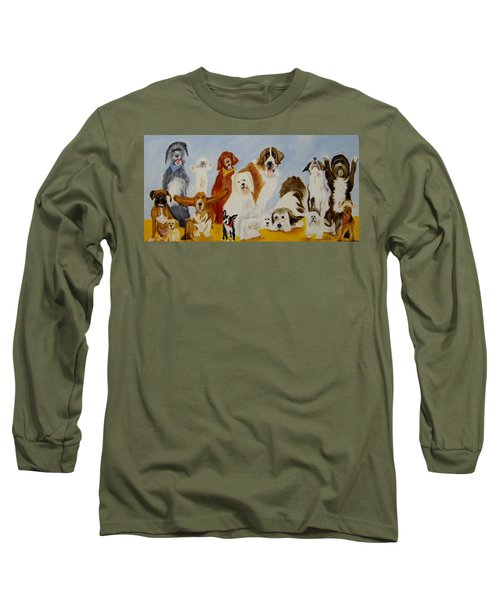 Dogs Are People Too Long Sleeve T-Shirt