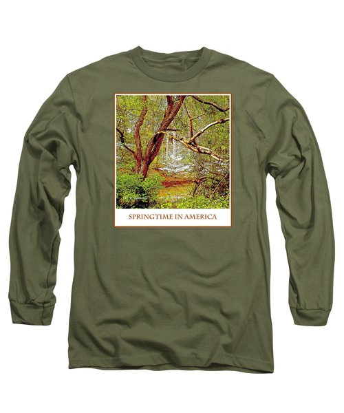 Long Sleeve T-Shirt featuring the photograph Dogwood Tree In Spring by A Gurmankin
