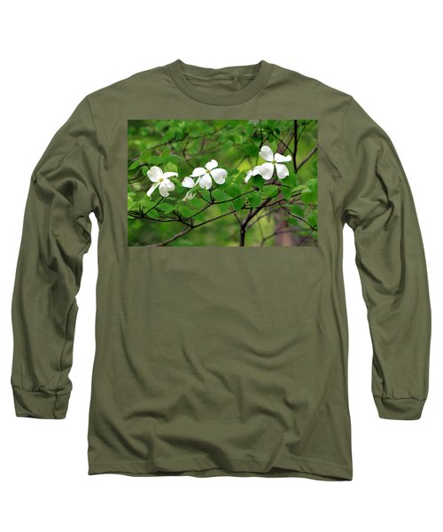 Dogwoods Long Sleeve T-Shirt