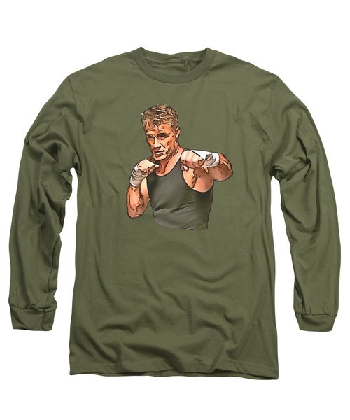 Dolph Lundgren Long Sleeve T-Shirt