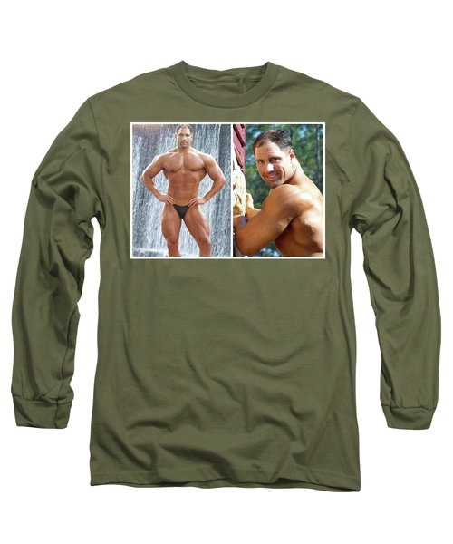 Long Sleeve T-Shirt featuring the photograph Dom Franco by Jake Hartz