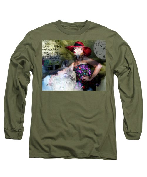 Domestic Considerations Kronos' Daughter Long Sleeve T-Shirt by Ann Tracy
