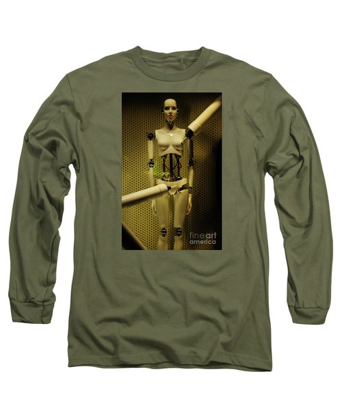 Domo Arigato Ms. Robato Long Sleeve T-Shirt by Craig Wood