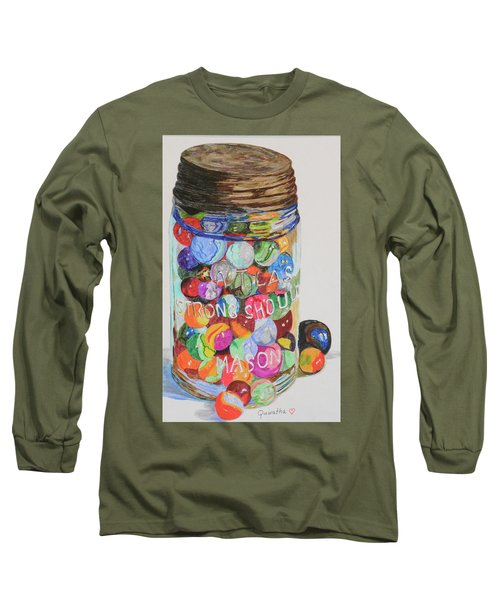 Don't Lose Your Marbles Long Sleeve T-Shirt