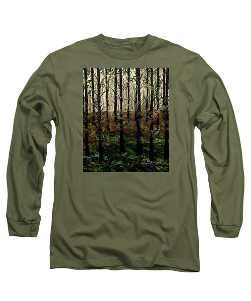 Don't Touch Down Long Sleeve T-Shirt