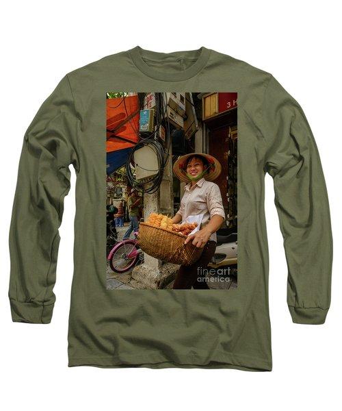 Donut Seller Long Sleeve T-Shirt