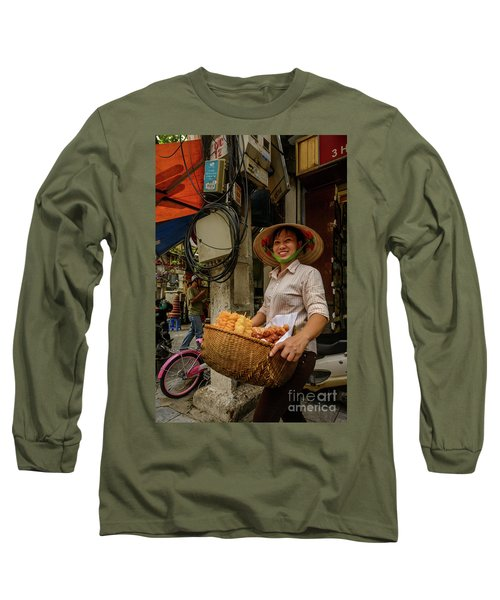 Donut Seller Long Sleeve T-Shirt
