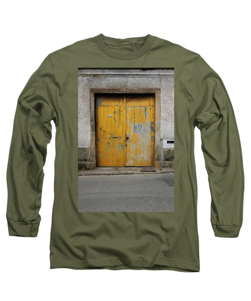 Long Sleeve T-Shirt featuring the photograph Door No 152 by Marco Oliveira
