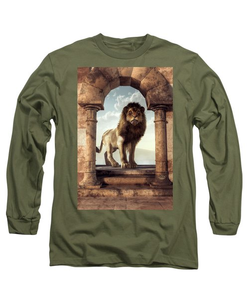 Door To The Lion's Kingdom Long Sleeve T-Shirt