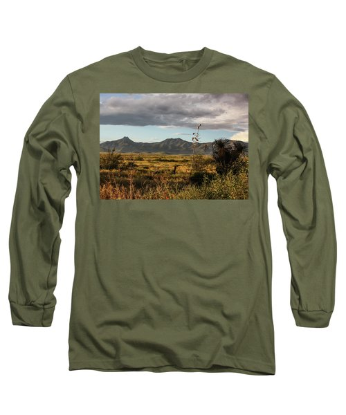 Dos Cabezas Grasslands At Dusk Long Sleeve T-Shirt