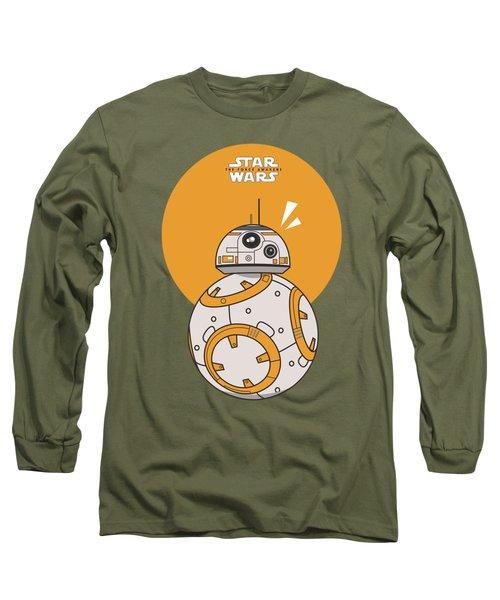 Dotted Starwars Long Sleeve T-Shirt by Mentari Surya