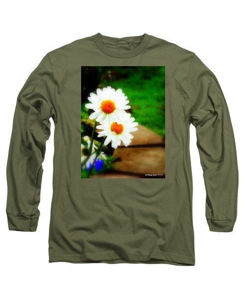 Double Daisy Long Sleeve T-Shirt