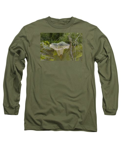 Long Sleeve T-Shirt featuring the photograph Double by Leif Sohlman