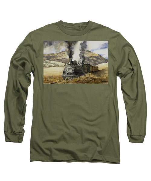 Double Teamin To Cumbres Pass Long Sleeve T-Shirt